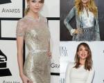 《人物》杂志评选的年度最佳着装女星,泰勒丝和布雷克·莱弗利分获冠亚军,杰西卡·阿芭名列第七,并获封旧衣女王。(Getty Images/大纪元)