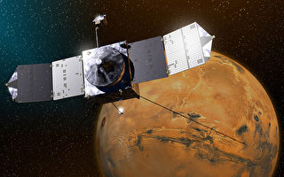 美MAVEN飛船進入火星軌道 研究氣候變化