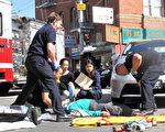 旧金山中国城车祸不断 再伤一人