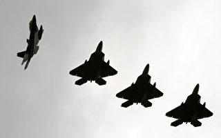 一週內美軍向3個方向派出F-22戰鬥機