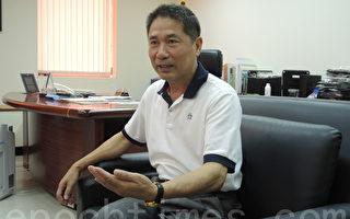 新藻实业董事长张昆旭。(陈柏年/大纪元)