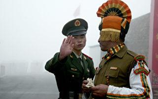 中印边境 中共集结五千士兵并储存武器