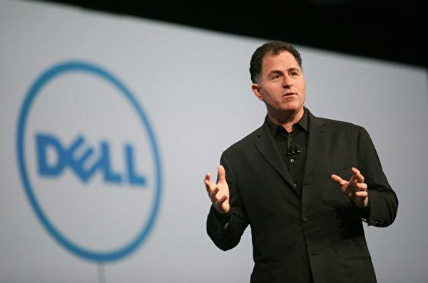 戴尔公司的创始人兼执行长麦可‧戴尔(Michael Dell)当年他就在学校宿舍卖起个人电脑,经由他改装升级过的电脑价格便宜,所以很快就销售一空,因此也赚了他的第一笔收入。大学第一学年结束后,他打算退学,但遭到父母坚决的反对。(KIMIHIRO HOSHINO/AFP)