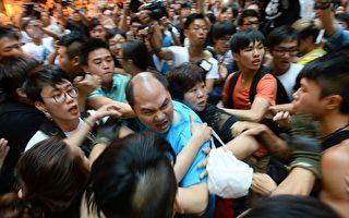 香港黑帮梁粉齐出动  欲造暴力镇压机会