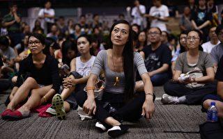 外媒:香港政府欲清场 学生拒撤退