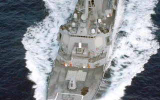 仅2000元 美国巡逻舰变身无人驾驶