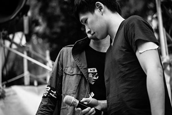 《太陽‧不遠》系列影片,紀錄臺灣太陽花學運影像,圖為學運領袖陳為廷。(TIDF提供)