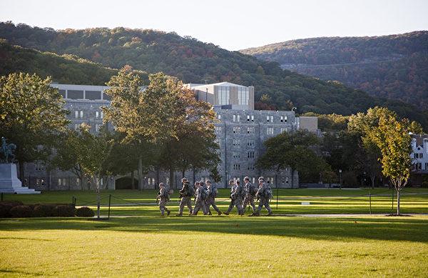 西點軍校。(大紀元圖片)