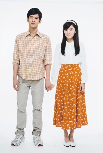 片中男女主角林柏宏(左)与林妍柔。(香港甲上提供)