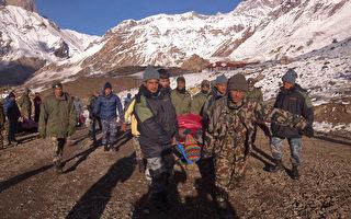 喜馬拉雅山雪崩 已32人罹難上百人失蹤