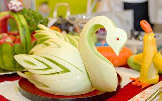 大華超市蔬果雕刻班開跑