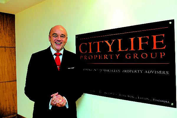 在香港长大的Citylife国际地产有限公司的创办人及总裁Michael Bentley。(大纪元)