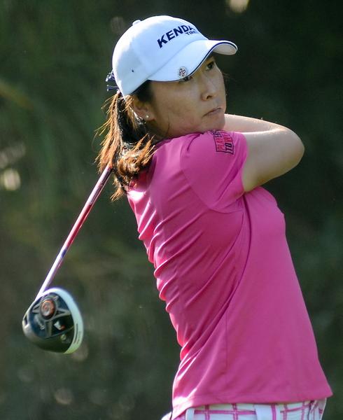 龔怡萍是台灣選手中排名最高者。(LPGA提供)