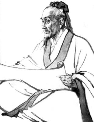 东汉名医张仲景画像。(维基百科公共领域)