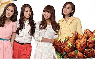 無抗生素肉雞 韓式配料炸功