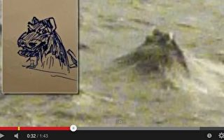 尼斯湖水怪露头?超自然调查者拍到照片
