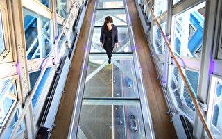 組圖:挑戰膽識 倫敦塔橋開放玻璃步道