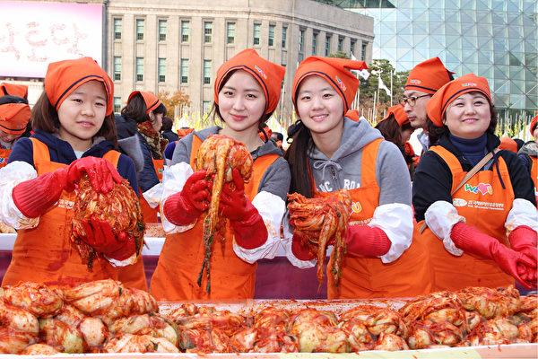組圖:2014首爾泡菜文化節