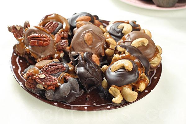 坚果焦糖巧克力(Nuts caramel Turtles)(张学慧/大纪元)