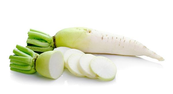 白蘿蔔有食療的效果。(Fotolia)