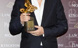 大陆演员陈建斌以《军中乐园》获得第51届金马奖最佳男配角。(许基东/大纪元)