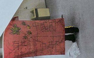 中國移民涉暴力搶奪被塗血旗被控