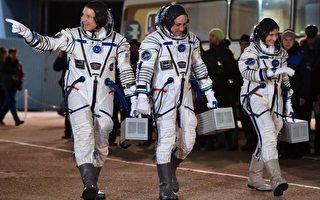 三太空人順利升空 啟動太空計程車任務