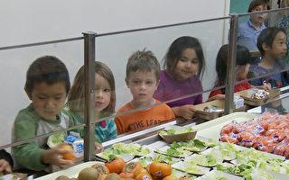 加州週四計畫 學生享當地新鮮蔬果