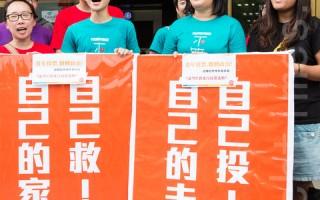 台民主列车 送2468青年返乡投票