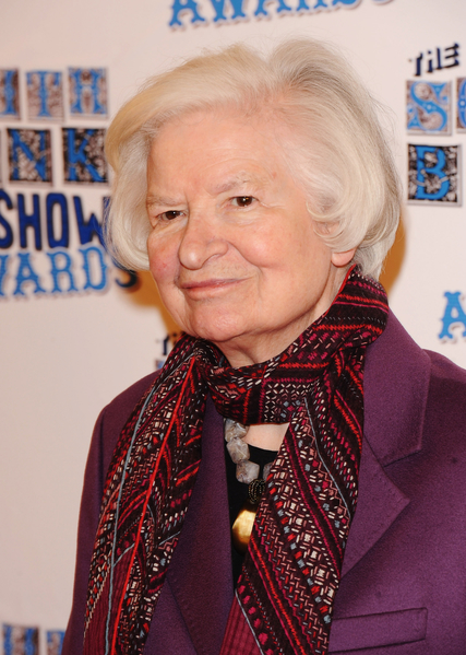 """被誉为""""推理小说第一夫人""""的英国著名女作家P‧D‧詹姆斯11月27日辞世,享年94岁。(Ian Gavan/Getty Images)"""