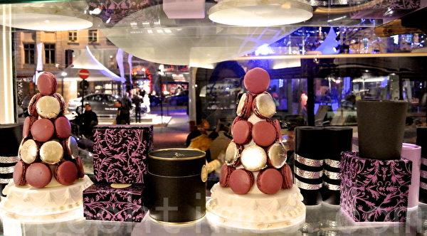 """2014年""""巧克力王国""""比利时的圣诞橱窗秀(箫依然/大纪元)"""
