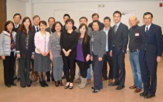 北卡台灣留學生與僑社代表共享感恩餐會