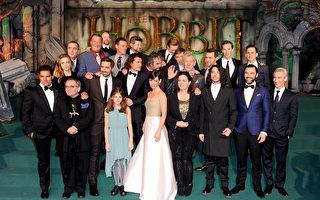 组图:《霍比特人3》伦敦首映 群星齐聚