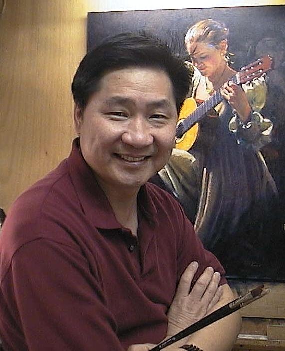 華裔畫家Clement Kwan. (Courtesy of Clement Kwan)