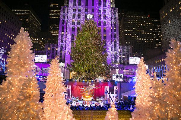 組圖:全球點亮聖誕樹 五彩繽紛迎佳節
