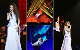 田馥甄巡迴首場開唱 冰山極光搬上舞台