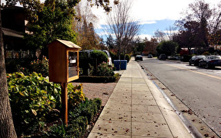 舊金山灣區的「街頭書櫃圖書館」