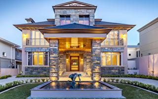 珀斯最富区中西合并现代豪宅 含蓄的贵族气质