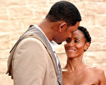 威尔‧史密斯和妻子贾达结婚17年,恩爱如初。(Alberto E.Rodriguez/Getty Images)