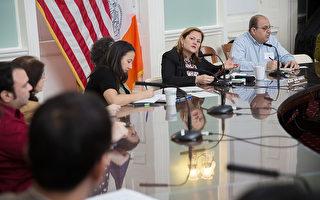 瑪麗桃與媒體會談 關注市民卡等議題