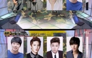 韓綜藝節目公布 2015將入伍韓星名單