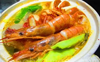 【玩料理】海鲜味噌火锅