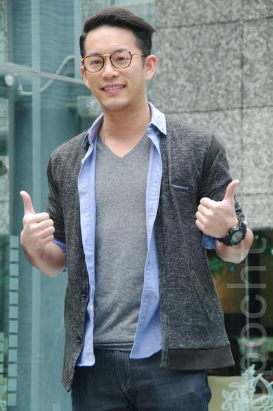 台视《雨后骄阳》于2014年12月18日在台北办理媒体见面会。图为Junior(韩宜邦)。(黄宗茂/大纪元)