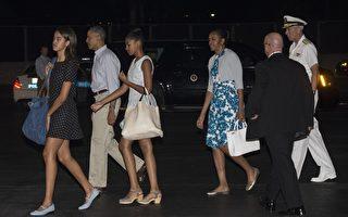 夏威夷渡假第一天 奧巴馬怎麼過?