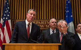 紐約警殉職 白思豪懇請暫停示威