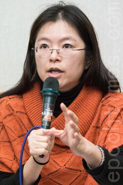 卫生福利部医事司专门委员刘玉菁。(陈柏州 /大纪元)