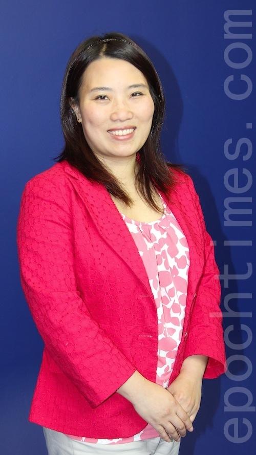 湾区退休理财专家Amanda Wu女士。(大纪元)