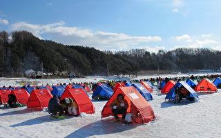 感受韩国别有风味的冬季庆典——钓松鱼