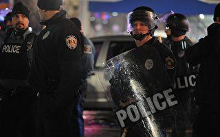 美國密蘇里州示威者抗議非裔青年被殺