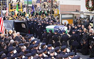 拜登悼纽约警察:我们的心为你而痛